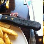 Hard rock Cutlery from the rubbish dump