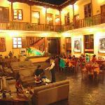 Lobby Hotel Best Western Los Andes de América