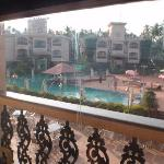 """Poolside view from our """"premium"""" room"""