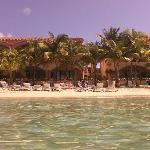 Vue de l'hôtel de la mer