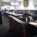 Inside Chick & Millie's Blue Moon Restaurant