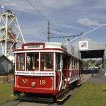 Catching a Tram at Central Deborah Gold Mine
