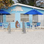 Open your patio door, and there is why you came to Anna Maria Island - the beach!
