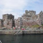 Peel Castle From The Harbour