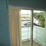 виз из окна :(