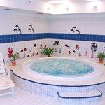 Wellness centre - whirpool
