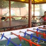 Metegol y ping pong
