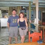 Ich und Michael von Mirador Lodge