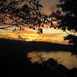 Sonneuntergang Von Mirador Lodge