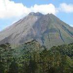 Arenal Volcano form GreenLagoon Summit