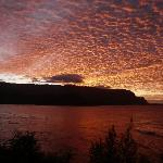 Sunset from Princeville Hotel patio/balcony