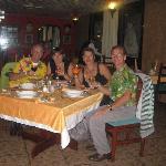 souper en bonne compagnie nos amis