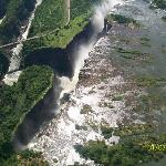 Arial view of the Falls