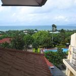 View of ocean and coastline from room 207