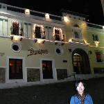 hotel at night xmas week