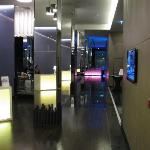Hallway to dining room/bar