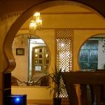 The Keyhole Arches from the tables.