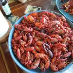 You are in Crawfish Capital of the World Breaux Bridge! this we had a Flloyd's Fruit Stand