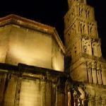 大聖堂と鐘楼のライトアップ