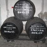 Old sherry barrels
