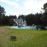 Parque acuático del hotel