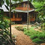 Our main cabin, Mindo Ecuador