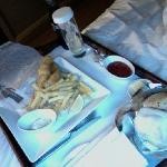 room service fish n chips