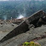Kilauea Iki crater - skin wrinkling on cooldown