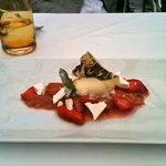 One of Luca's dessert creations.