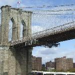 Brooklyn Bridge from the circle line tour