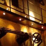 Mécanisme d'origine au dessus du bar