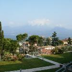 View of Lake Garda from the room