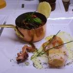 Calamar grillé & ratatouille Niçoise
