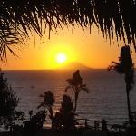 tramonto-vista dal terrazzo