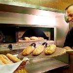 pan cocido al horno de leña