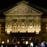 Concertgebouw: nighttime view