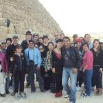 our group of 26 with our guide Islam