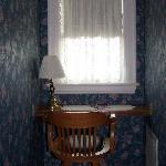 Desk/window (3rd floor room)