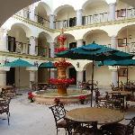 Las Villas Hotel Courtyard, Mazatlan, Mexico