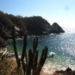 Violin beach near Entrega beach