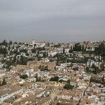quartier de l'Albayzin vu de l'Alhambra