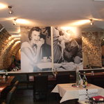 Little taste of Italy with fab wall photos