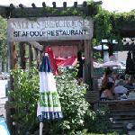 Popular Salty's Restaurant is next door