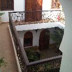Riad 107 - a view from inside...