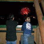 Fireworks from our balcony