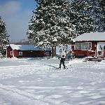 Nordic skiing starts right at the Lodge