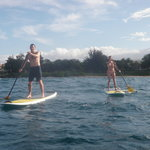 Maria Souza's Stand Up Paddle School