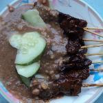 Pork satay - Carpenter street