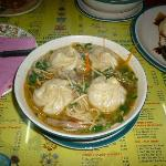 Momos in soup