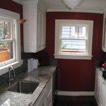 a private kitchen!